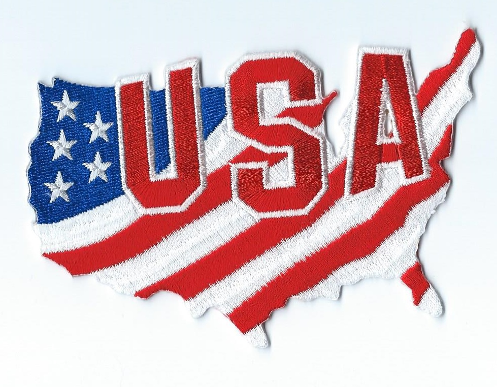 Made in USA. Ironed-on Patches Will Not Come Off. EmbTao USA Map Shape American Flag Embroidered Iron On Sew On Patch. by EmbTao. $ $ 4 99 Prime. FREE Shipping on eligible orders. 5 out of 5 stars 2. Product Features EmbTao is the top embroidery brand for best patch.